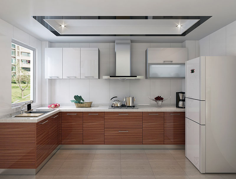 Modern Design L Shaped Stainless Steel, Kitchen Modern Pantry Cupboard Designs