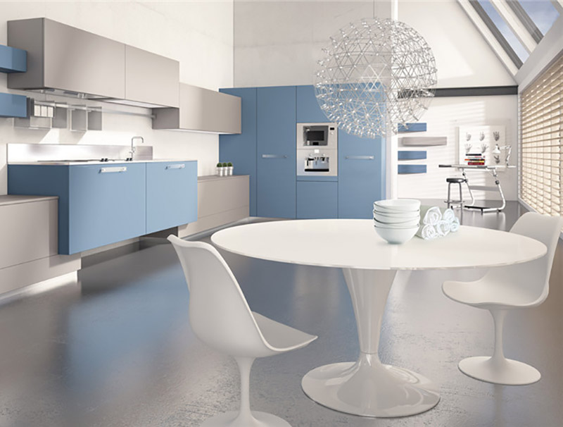 High Quality High Quality Stainless Steel Residential Kitchen Modern Design Lacquer Stainless Steel Kitchen Cabinet Diyue Manufacturers And Suppliers Diyue
